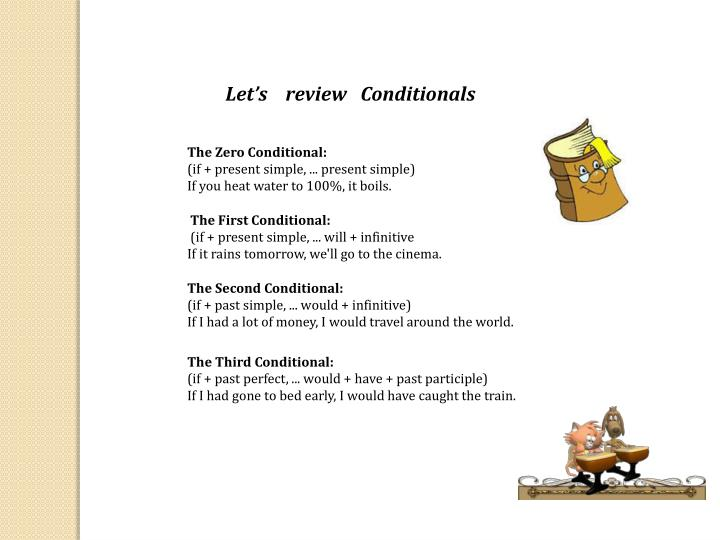 Let's   review   Conditionals