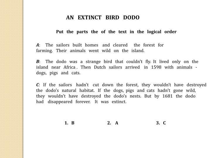 AN   EXTINCT   BIRD   DODO