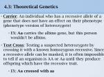 4 3 theoretical genetics11