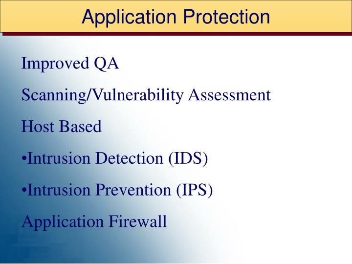 Application Protection