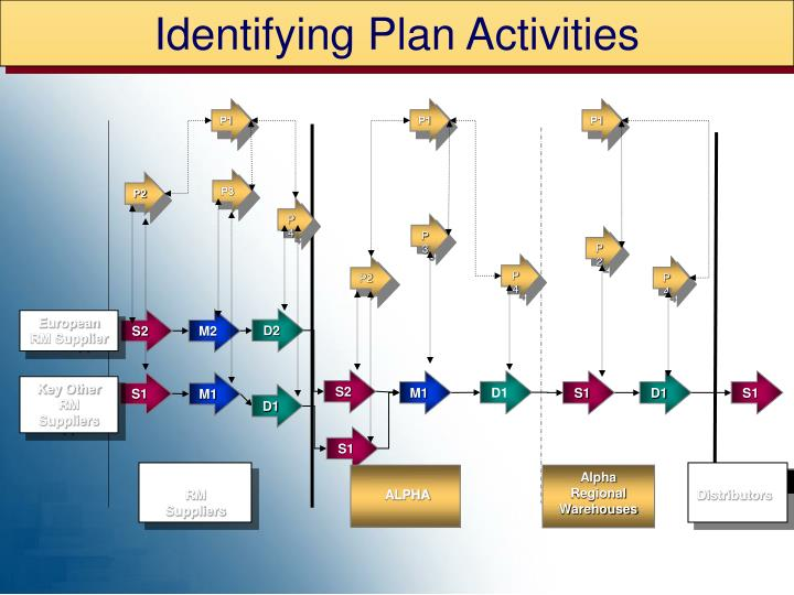 Identifying Plan Activities