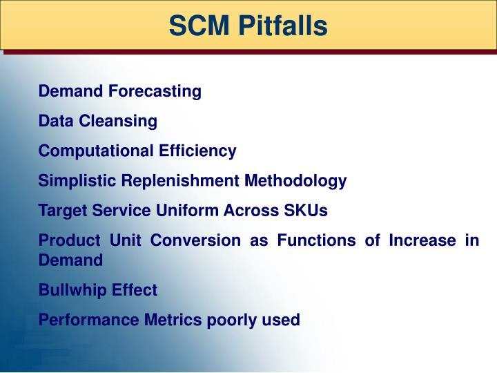 SCM Pitfalls