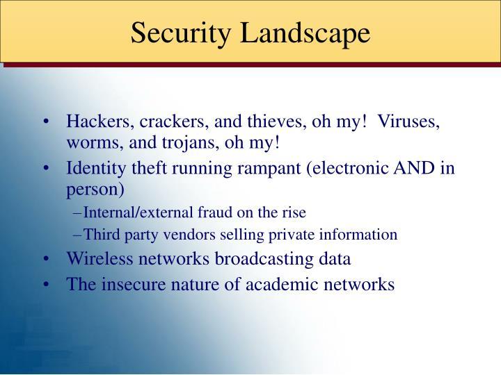 Security Landscape