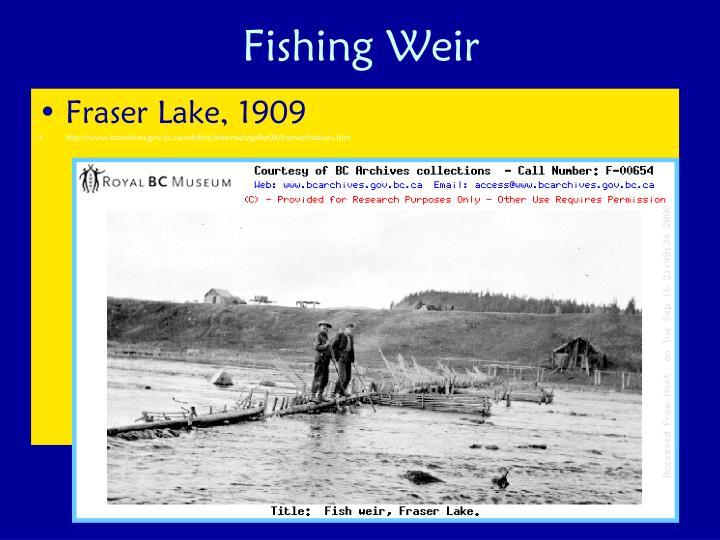 Fishing Weir