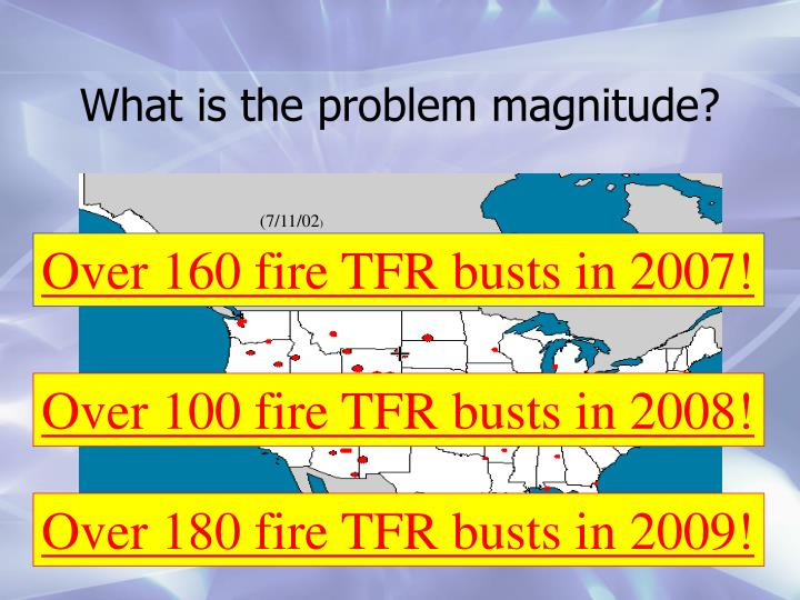 What is the problem magnitude?