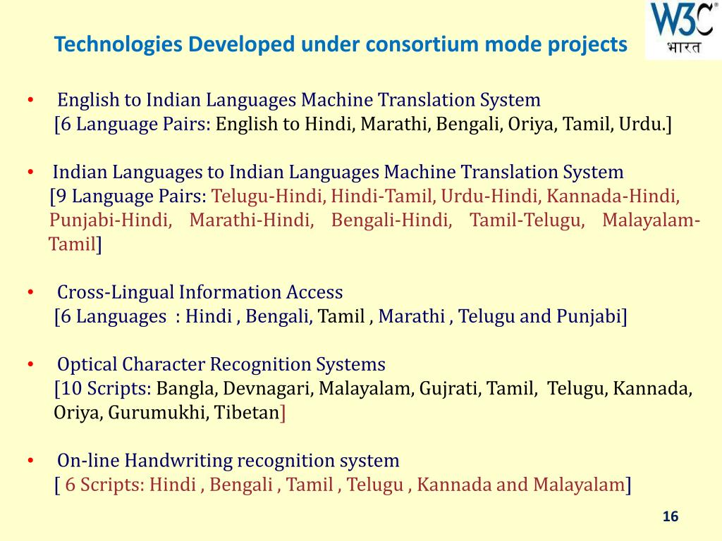 PPT - Challenges of Multilingual Web in India : Technology