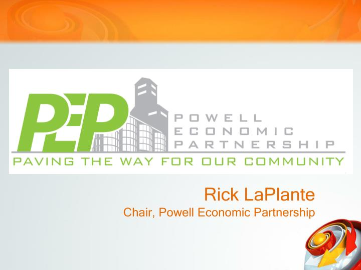 rick laplante chair powell economic partnership n.