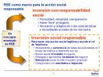 rse como marco para la acci n social responsable