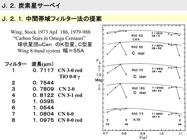 J.2.炭素星サーベイ