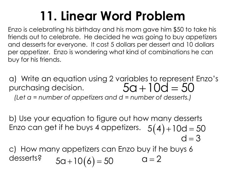 11. Linear