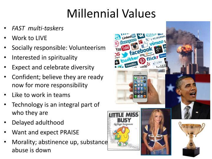 Millennial Values