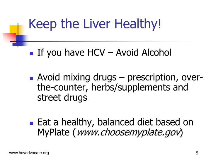 Keep the Liver Healthy!