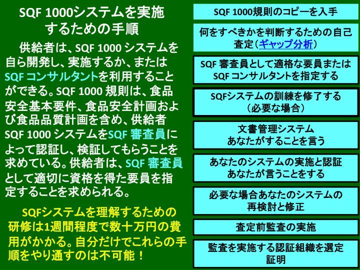 SQF 1000
