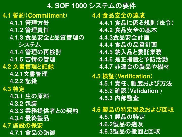 4. SQF 1000