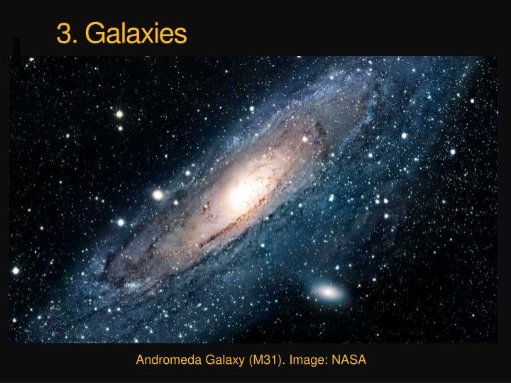 3. Galaxies