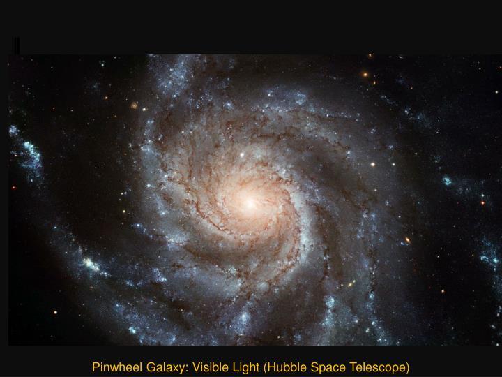 Pinwheel Galaxy: Visible Light (Hubble Space Telescope)