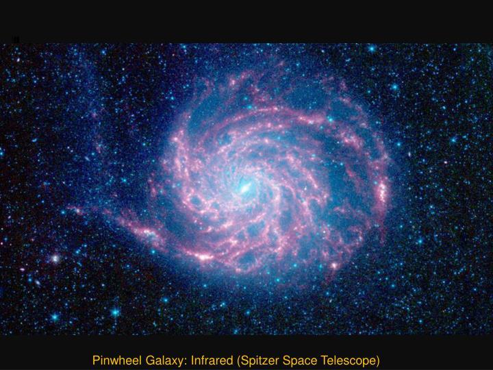 Pinwheel Galaxy: Infrared (Spitzer Space Telescope)