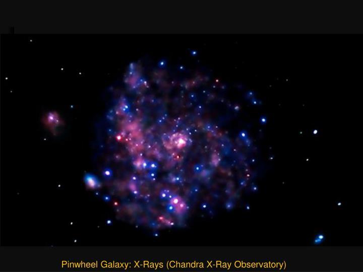 Pinwheel Galaxy: X-Rays (Chandra X-Ray Observatory)