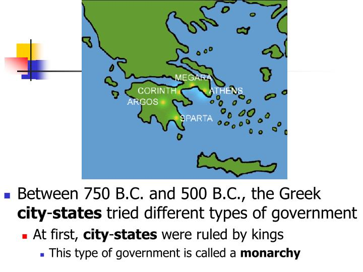Between 750 B.C. and 500 B.C., the Greek