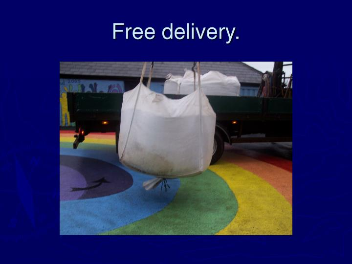 free delivery n.
