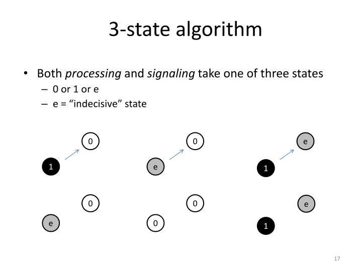 3-state algorithm