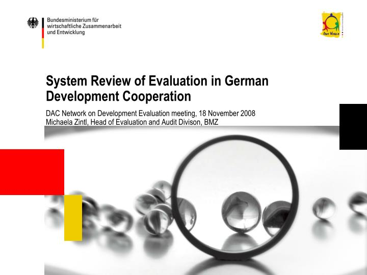 system review of evaluation in german development cooperation n.
