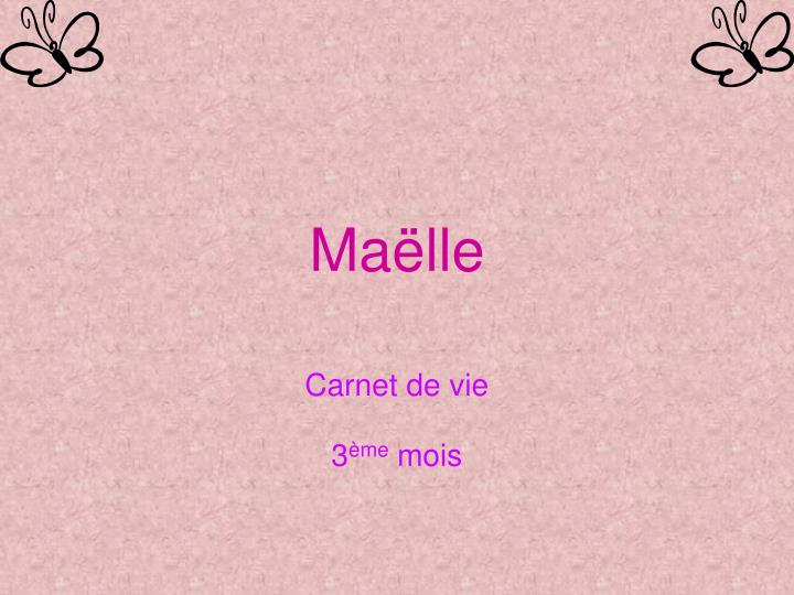 Ma lle