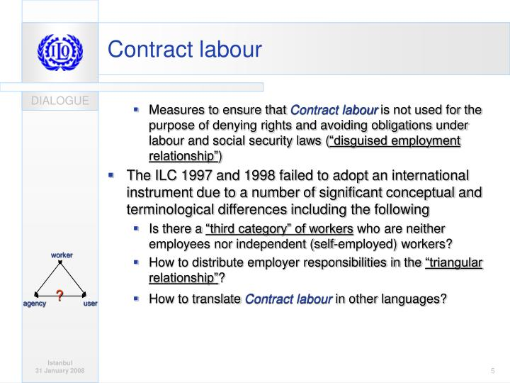 contract labour