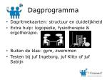 dagprogramma
