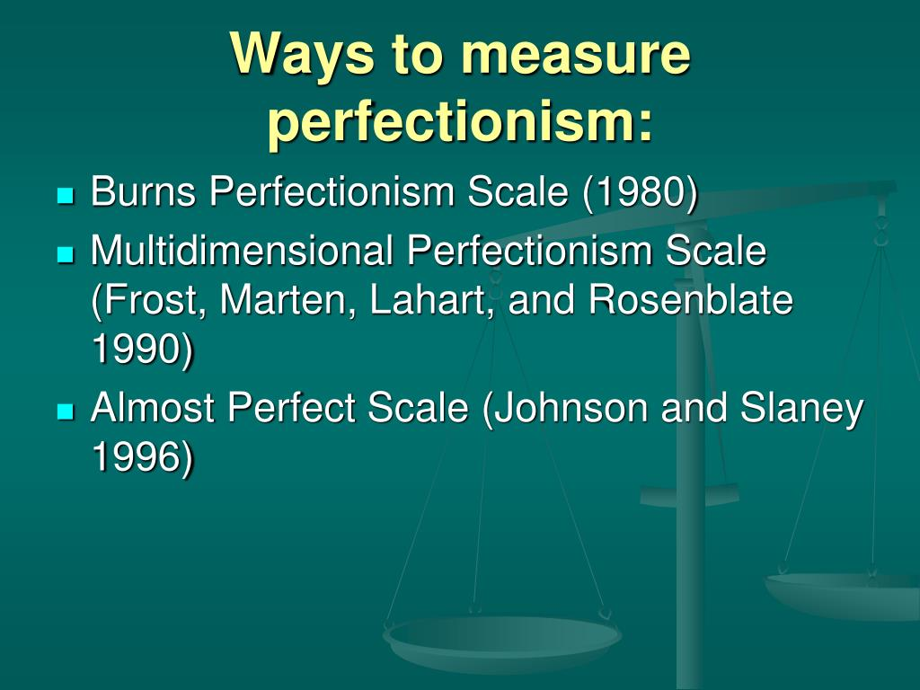 2c74a12f2 PPT - Perfectionism in gifted students PowerPoint Presentation - ID ...