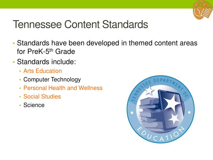 Tennessee Content Standards