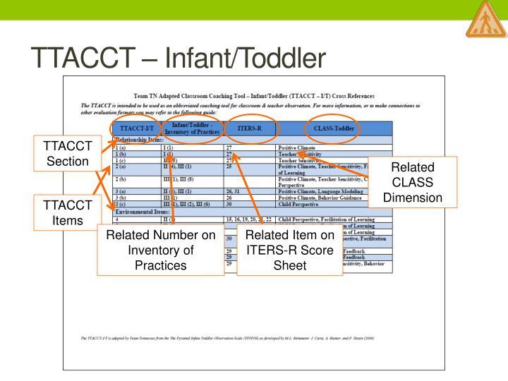 TTACCT – Infant/Toddler