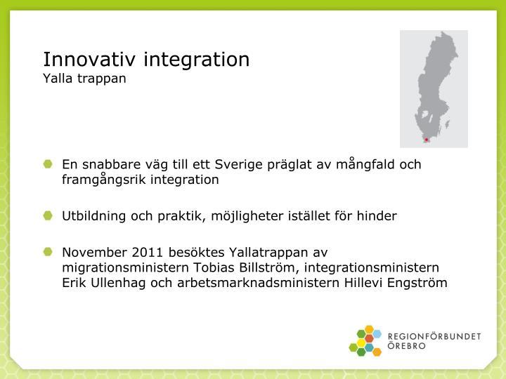 Innovativ integration