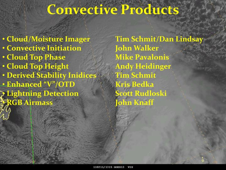 Convective Products
