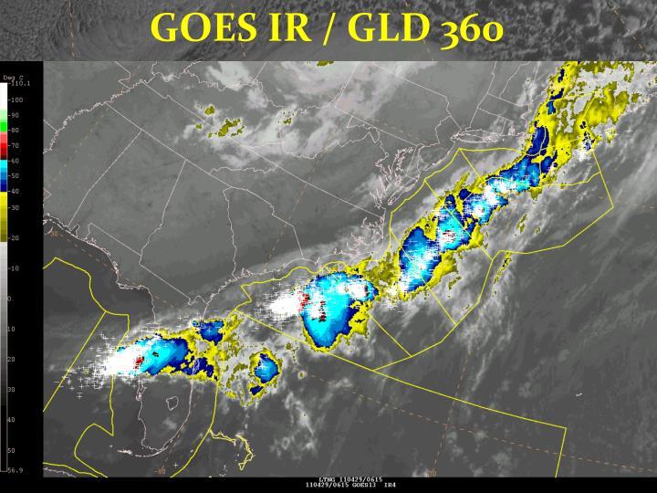 GOES IR / GLD 360