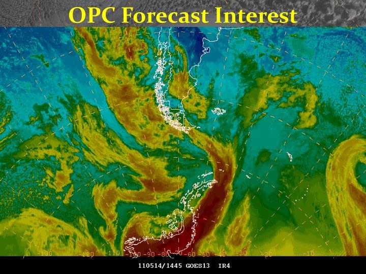 OPC Forecast Interest