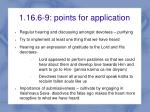 1 16 6 9 points for application