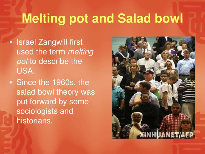 salad bowl definition sociology
