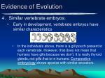 evidence of evolution3