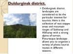 duldurginsk district