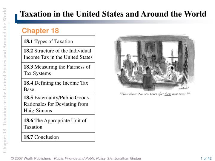 taxation in the united states case An overview of taxation in the united states case solution, this technical document provides a brief overview of tax planning, attributable to the us tax system and basic us tax law fundamental business decision.