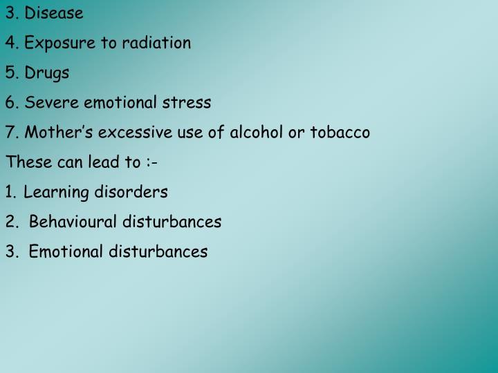 3. Disease