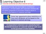 learning objective 6 describe events that can affect retained earnings