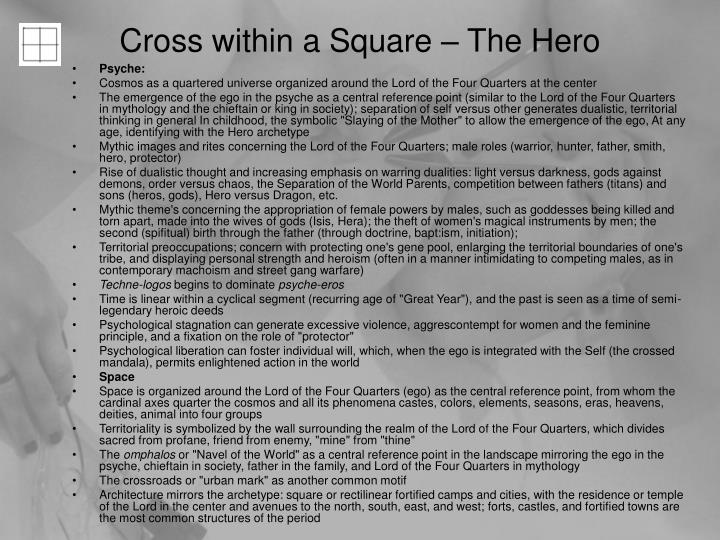 Cross within a Square – The Hero