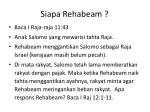 siapa rehabeam
