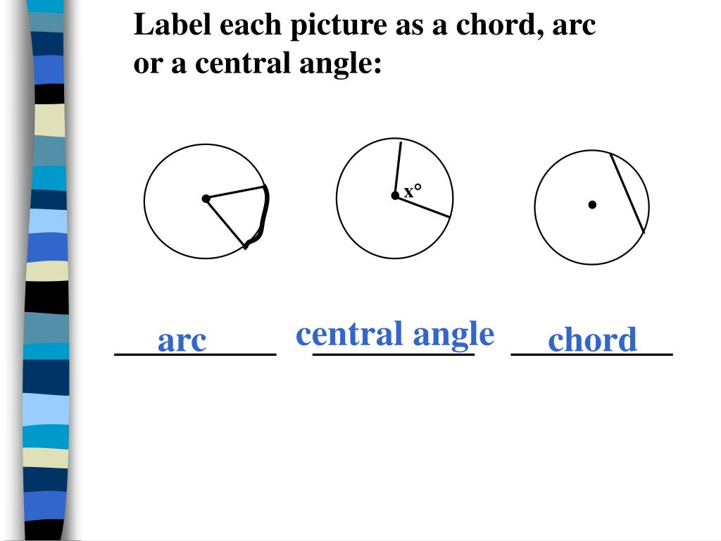 PPT - LESSON 11.2 CHORDS AND ARCS PowerPoint Presentation ...