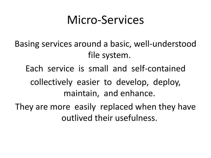 Micro-Services