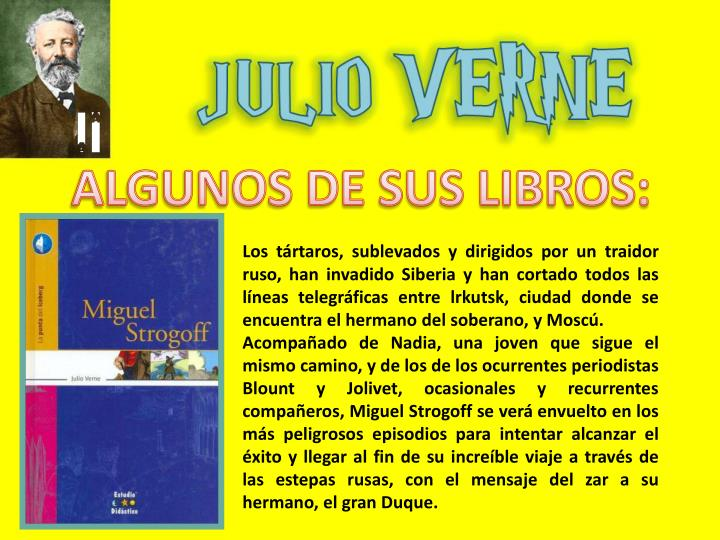 ALGUNOS DE SUS LIBROS: