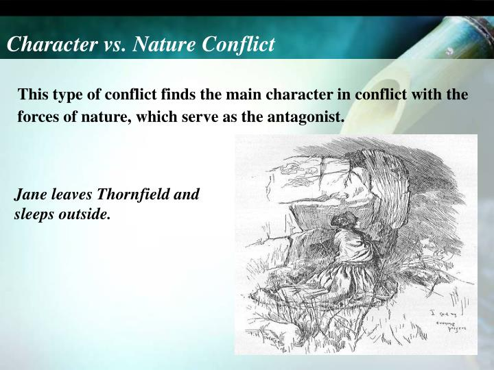 Character vs. Nature Conflict