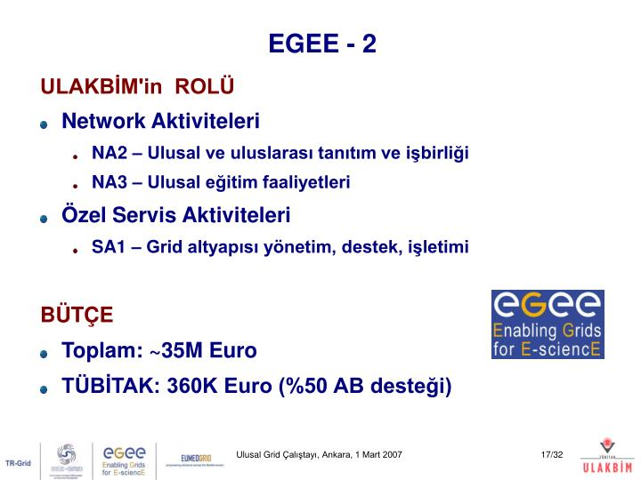 EGEE - 2